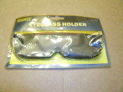 Bronco Eyeglass Holder With Adhesise Backing. CR-572. New. Old Stock. Retail Package. 788914312128.