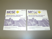 MCSE 70-216 Premium Edition Training Kit. Microsoft Windows 2000 Network Infrastructure Administration. 2 CD's. X08-04574 and X08-04575. Used.