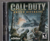 Call of Duty. United Offensive. Expansion Pack. 32639.221.US. Finest Hour. 32639.101.US. T for Teen. ActiVision. 32640. 32639.201.US. Used. 047875326392