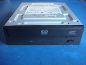 HP 410125-200 DVD ROM. Refurbished. Black Bezel. 419496-001. SATA Connector. 431162-001.