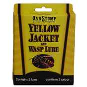 Oak Stump 1533 Yellow Jacket and Wasp Lure. 752587015334. 2 Kits. New.