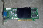 NVIDIA P73 Video Card. Refurbished. PCB100. REV AOO. 64MB. AGP. VGA. 180-10073-000-A03. Pulled from my computer.