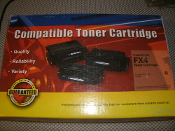 Canon LC9000 Compatible FX4 Toner Cartridge. New. Black Toner. 101104681. Page Yield is 4000 Pages.