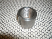 Notched Draw-Rod Nut 128291. New. 8517-85586-5. Unknown Brand. Stainless Steel.