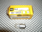 Caterpillar 9X-4494 Bulb. New. CAT 9X-4494 Bulb. 9X4494. One Bulb Per Order.