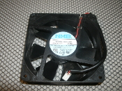 Minebea NMB-MAT 4715KL-05W-B40. Case Fan. Refurbished. 4715KL-05W-B40 E00. 119MM x 38MM. Axial fan. 24V DC, 0.46A.