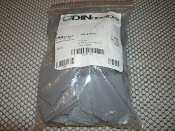 DINnectors DN-S1210 Separator. 100 Count. New. Terminal Block Spacer. Separator for DN-T12 and DN-T10. 1 Bag + 100 Pieces. Gray. 43015. DNS1210.