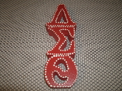 Delta Sigma Theta Sorority Wall Plaque. New.