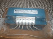 Allen-Bradley 17861. 3 Phase Line Reactor. New. 1321-3R8-D. 7.5 mH 8 AMP. Ith + 12 A. 600V MAX 60Hz. 200.18. Wire Range Torque: 22-14 AWG, 4.5IN MAX.