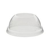 "Dart Solo 16LCDH Clear Dome Lids. New. 1.5"" Hole. Lid For Plastic Cups. 50 Per Pack. Case of 20."