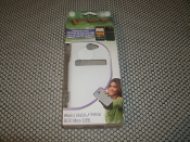 HTC Evo LTE Back Case. New. HTC EVO LTE. White Case. 60145. Fifo Brand. 694155601450.