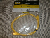 Hubbell Speedgain Patch Cable. PC5EPY04. New. Yellow 4'. C5e+. 662620821290. Retail Package. CSA LL51726. Type CMG.