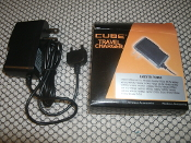 Cube and Travel Cell Phone Charger. ERZ520-TC001, New. Wireless Accessories. 930523204187, 6930523204187. Sony Ericsson