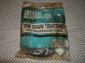 SCC QG 20070 Quik Grip Tire Chain Tightener. New. QG20070. For Passenger Cars. 044182002162. Snow Chain Company.