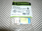 Ortronics OR-HDJ6A-36 CAT 6 Jack. New. HD Jack, CAT6A, Clarity, T568A/B. 8POS, Blue, 180DEG. 662875880820. OEM Retail Package.