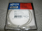 Tripp-Lite N001-003-GY CAT5E Cable. New. N001003GY. 3', 90cm. 037332042446.