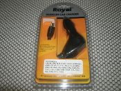 Royal EM330 Car Cell Phone Charger. New.. Motorola EM330, I290, I425, IC502, IC902, K1, K1M, L2, LG, L7, L7C, Maxx Ve, Q, Q9C,