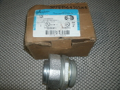 "Cooper LT200 Crouse Hinds 2"" Straight Male Connector. New. LT-200. Non-Insulated Throat Bushing. 784564302007. Iron, Malleable."