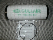 Sullair 02250139-995 Element Filter Kit. New. 602225. 1 Filter, 2 O-Rings. Brand: Sullair. 02250139995.