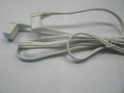 "Hera 757246021428 SlimLite Connecting Cable. New. 6'. Pin Type. White. SCC72/XL. Use with SlimLite flourescent light-20"", 13"", 10"" long."