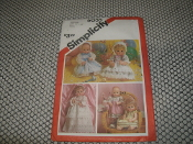 "Simplicity 6055 Medium Size: 15""-16"". Doll Dress Pattern."