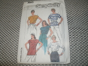 Simplicity 7663 Sewing Pattern. New. Size 14. 11 Pieces.