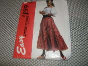 Easy Stitch 'N Save by McCall's. 0487. Size B. (M-L). New. 023795648721. 9 Pattern Pieces. Bin No. 32.