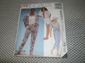 Easy McCall's 6020 Sewing Pattern. New.Size C (10-12-14) Select-A-Size. 023795602020. 12 Pattern Pieces.