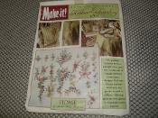 Iron-On Transfers For Ribbon Embroidery. R703. New. Home by Judith Baker Montano. Make-It. R703 / O/S. 031664216711.