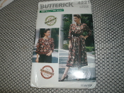 Butterick 4221 Sewing Pattern. New. All Sizes Included. 4 Ways to Finish. 8 Ways to Wear Scarf Ideas.