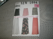 New Look 6041 Six Skirt Variations in One Pack. 039363244295. BIN 53. Touchtone Code: 24429. 7 Pieces. Size A. 8-18.