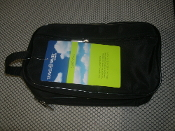 "Travel Smart TS080SK Sundry Bag. New. By: Conair. Four Zippered 10"" X 5"" X 5"". Sundry Kit. 039052006173. V10256. W TS080SK-320A. 10FZ18137."
