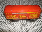 Marx U.S.M.-1935 U.S. Mail Car. Used. Mar Toys. 8 Wheels. N.Y.C. Lines. U.S. Railway. Post Office.