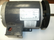 Emerson P63SYDYK-4257. 3/4 HP 3-Phase RPM: 950/1140. Electric Fan Polyphase Air Over Motor.