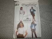 Simplicity 8478 Sewing Pattern. New. Jiffy Wardrobe. Size: 12. EUR. 40. Four Easy Pieces. 03936303770.