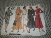 Vogue 1923 Sewing Patterns. New. Size: 14-16-18.