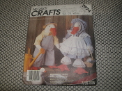 McCall's Crafts 2974 Decorative Geese Sewing Pattern. Stuffed Geese and the Country Touch. 02379500525.