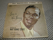 Love is the Thing the Voice of Nat King Cole. ZW 824. Used. With the Orchestra of Gordon Jenkins. 4 Track Tape. IPS 7 1/2. Capital Records.
