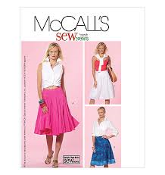 McCall's M5053 Sewing Pattern. New. Sew News. Size AA. 6-8-10-12. 023795505314.