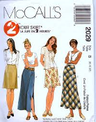 McCall's 2029 Sewing Pattern. New. 023795202954. Size E. 14-16-18. Five Pieces.
