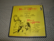 Man of La Mancha. A New Musical Play. KTA 41109. KTA41109. Add Insert A. Ampex. 4 Track Tape.