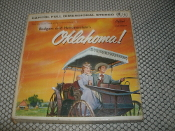 Oklahoma! Rodgers and Hammerstein's. ZW-595. Used. 4 Track Tape. 7 1/2 IPS. Capital Records.