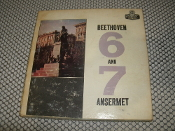 "Beethoven 6 and 7 Ansermet. LCK-80052. Add Insert A. Ampex. Symphony No. 6 In F Minor. (Op. 68) (""Pastoral""). Symphony No. 7 In A Minor (Op.92). Ernest Ansermet. L'Orchestre De La Suisse"