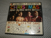 Christmas Sing-Along with Mitch. 4 Track Tape. Columbia Stereo Tape. Mitch Miller & The Gang. CQ-313. Stereophonic Tape.