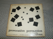 Provocative Percussion Stereo Tape. 4 Track Tape. RS-4T-806. Command Tape. Stereophonic.