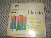 "Haydn Symphony no. 100 in G. ""military"". 4 Track Tape. VTB-1609. Symphony no. 101 in D. ""clock"". Mogens Woldike Vienna State Opera Orchestra."