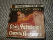 Offenbach Gaite' Parisienne. MQ 336. As Presented by the Ballet Russe de Monte Carlo. Bizet Carmen Highlights. Andre Koltelanelanetz