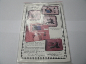 "Sewing Lady. Cardin Originals. New. 92649. 3 Victorian Sewing Motifs, 12"" X 18"" and 12"". Sewing Machine Cover."