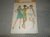 Simplicity 9989 Sewing Pattern. New. Size: 12. Bust: 34. Miss. 13 Pieces.