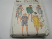 Simplicity 8720 Sewing Pattern. Size 14. EUR.42. 03936305777. Maternity Easy to sew pants, shorts, dress or top in misses' sizes-14 pieces.